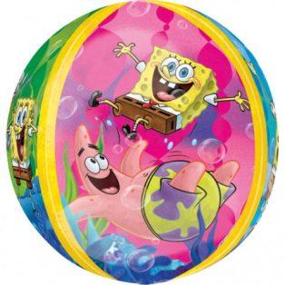 Bubbles/ Buborék lufi, Spongebob, 38x40cm
