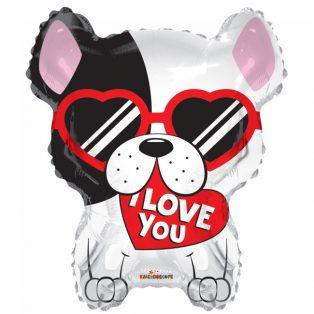 "VALENTIN LUFI, SARP HEI-""I LOVE YOU"", 18""/46 CM"