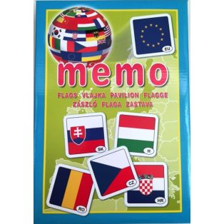 DOMINÓ/MEMÓRIA, MEMÓ, ZÁSZLÓ