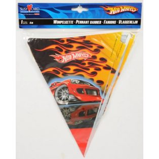 PARTI ZÁSZLÓ, HOT WHEELS, 4m