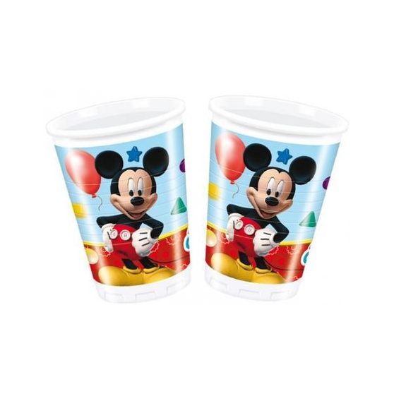 PARTY POHÁR, MICKEY MOUSE CLUBHOUSE,  2 DL-ES