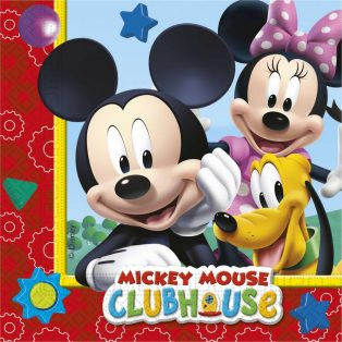 PARTY SZALVÉTA, MICKEY MOUSE CLUBHOUSE, 20DB-OS