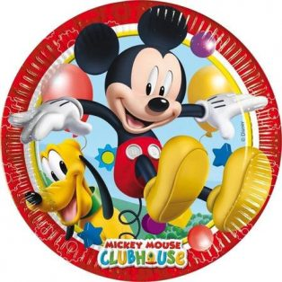 PARTY TÁNYÉR, MICKEY MOUSE CLUBHOUSE, 20CM