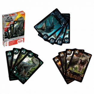 JURASSIC WORLD CRAZY EIGHTS KÁRTYA