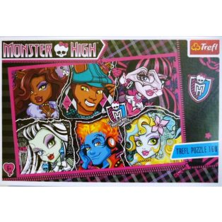 PUZZLE, MONSTER HIGH, 160db-os