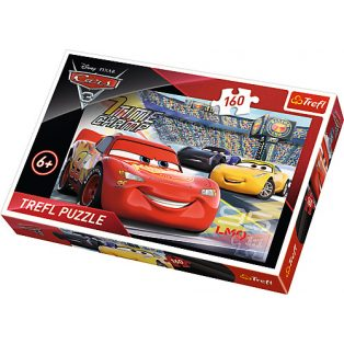 PUZZLE, 160 DB-OS, CARS/VERDÁK
