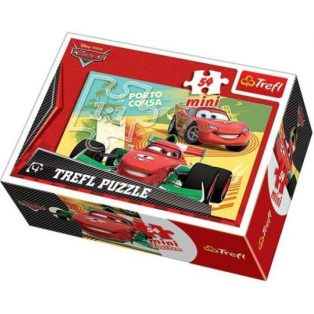 PUZZLE, 54db, MINI, CARS/VERDÁK