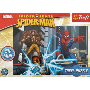 PUZZLE, 54DB-OS, MINI, SPIDERMAN