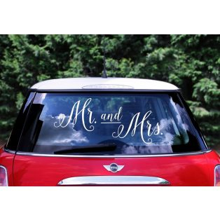 "AUTÓDEKOR MATRICA, ""MR&MRS"""