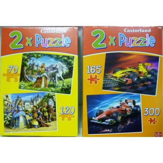 PUZZLE, 2az1-ben, 70 és 120db-os