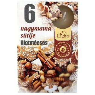 GYERTYA, ILLATMÉCSES, 6 DB/CSOMAG, NAGYMAMA SÜTIJE