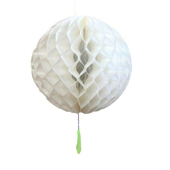 PAPÍR LAMPION, GÖMB, 26 cm, Egyszínű, 2 féle színben