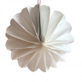 PAPÍR LAMPION, KERÉK, MINI, 13 cm, Egyszínű,6 féle színben