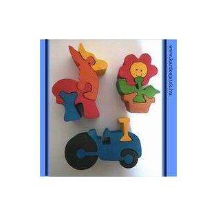FA PUZZLE, (2,5cm VASTAG) Kis játékok  2-5 részes