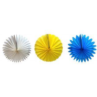 PAPÍR LAMPION, KERÉK, GIGA, 75 cm, Egyszínű,6 féle színben