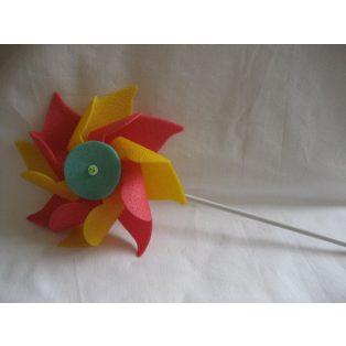 SZÉLFORGÓ, d22*45 cm (SZIVACS) NAGYFEJES
