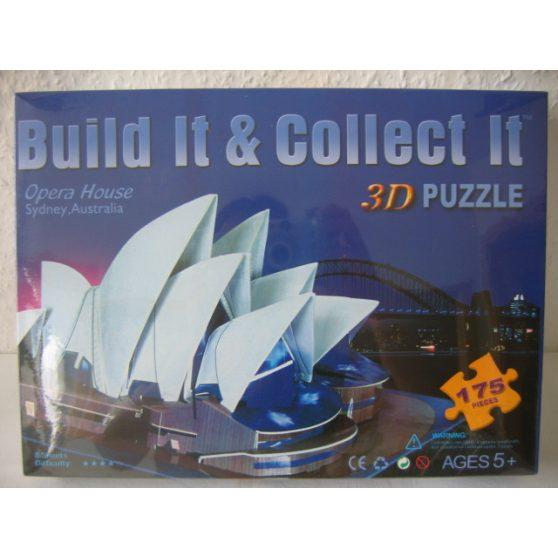 3D PUZZLE, SYDNEY OPERAHÁZ, 175db-os