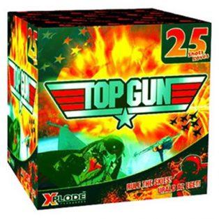 TOP GUN TELEP, 25 Lövés/ Ø 20 mm/200gr