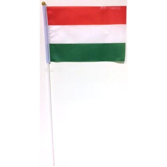 ZÁSZLÓ, TEXTIL, NEMZETI, 20x14 cm