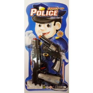 RENDŐR PISZTOLY, FORCE POLICE, 2 DB/CS