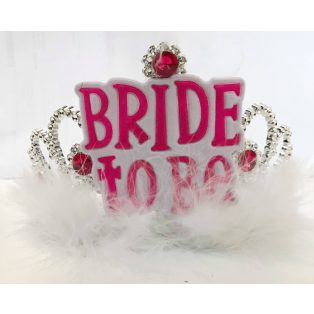 BRIDE TO BE KORONA / TIARA, BOÁS