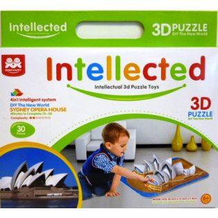 PUZZLE, 3D, SYDNES OPERA HOUSE, 30 DB-OS