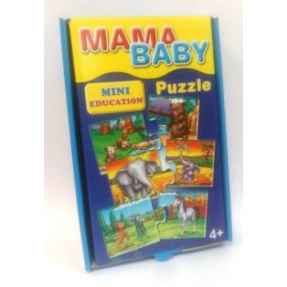 MINI EDUCATION, PUZZLE, MAMA-BABY
