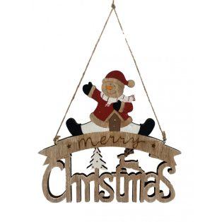 KARÁCSONYI HÓEMBERES AJTÓ VAGY FALI DÍSZ, MERRY CHRISTMAS