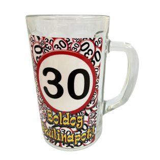 KORSÓ, 3,3dl, 30. SZÜLETÉSNAPRA, VK033