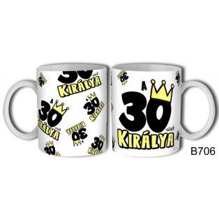 KERÁMIA BÖGRE 30. SZÜLETÉSNAPRA