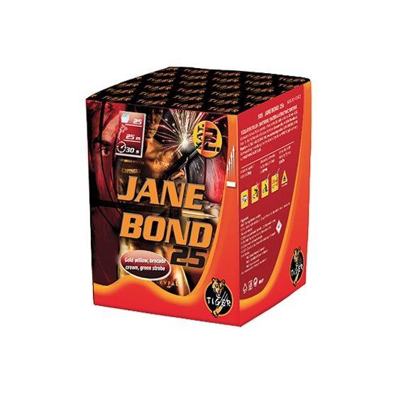 JANE BOND 25, 25 LÖVÉSES TELEP, Ø 25 mm
