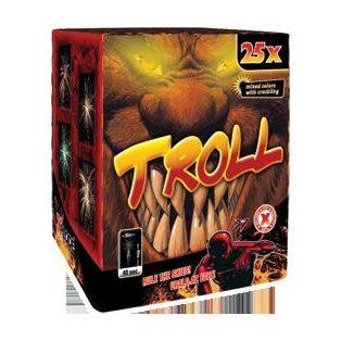 TROLL TELEP, 25 lövés/ 40 mp/ Ø 40 mm / 600 gr/ 3.kategória