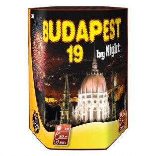 BUDAPEST BYE NIGHT 19 LÖVÉSES TELEP, Ø 30 mm