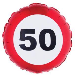 "FÓLIA LUFI, ""50"" BEHAJTANI TILOS"
