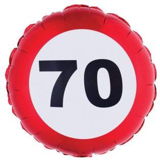 "FÓLIA LUFI, ""70"" BEHAJTANI TILOS"