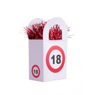 """LUFISÚLY, BEHAJTANI TILOS """"18"""""""