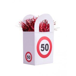 """LUFISÚLY, BEHAJTANI TILOS """"50"""""""