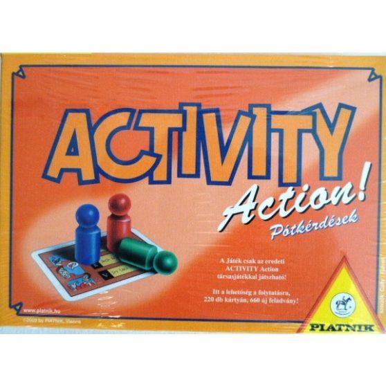 ACTIVITY ACTION PÓTKÉRDÉSEK
