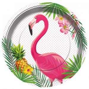 Flamingó mintás terítékek és kiegészítők