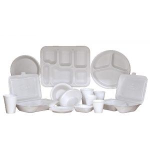 Eldobható műanyag terítékek, asztalterítők