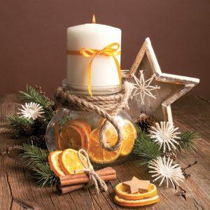Karácsonyi szalvéták és bögrék