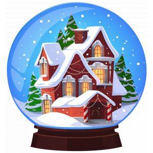 Karácsonyi ajándéktárgyak és asztali díszek