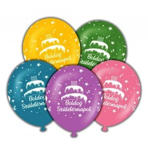 Gömb lufik születésnapra