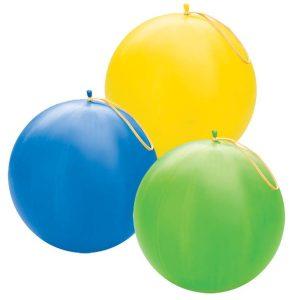 Egyéb méretű egyszínű pasztell gömb lufi