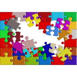 Hagyományos puzzle, kirakó