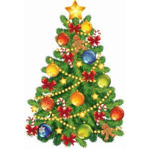 Karácsonyfa díszek és boák