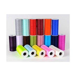 Organza tekercsek 11 cm/10 m (egyszínű)