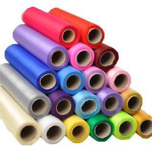 Organza tekercsek 23,5 cm/10 m (egyszínű)