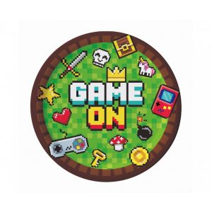 Game on mintás terítékek és kiegészítők
