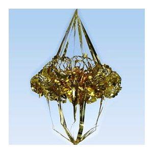 Fényes-fólia (arany-ezüst) lampionok